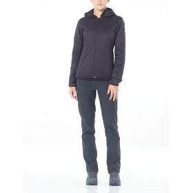 Icebreaker Hyperia Lite Hybrid Hooded Jacket Women Black